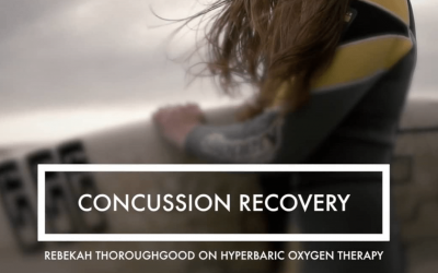 Concussion Recovery – Rebekah Thoroughgood on mHBOT & PEMF's